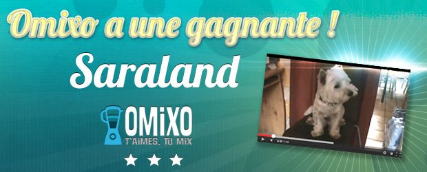 Le concours Omixo a une gagnante !